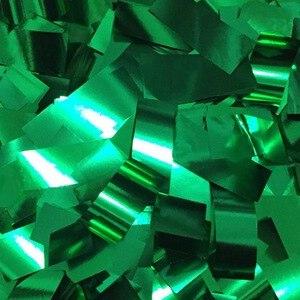 Coriandoli Metallizzati Verdi 500 gr
