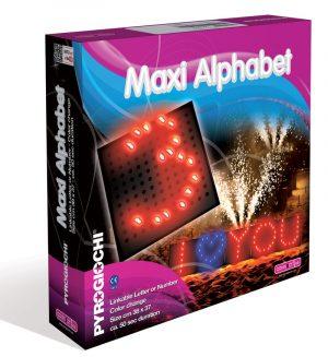 Maxi Alphabet Heart