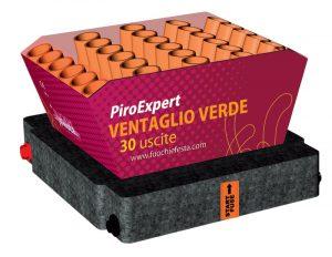 Piroexpert 30 uscite Ventaglio Verde