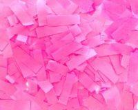 Coriandoli Rettangolari Rosa 1 kg